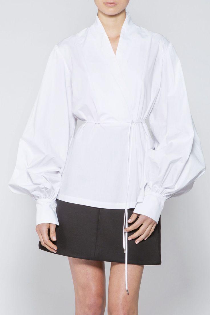 Acler - Tovoli Shirt White