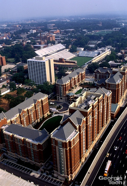 1996 Atlanta Olympic Village (And now the Campus Housing area for Georgia Tech!)