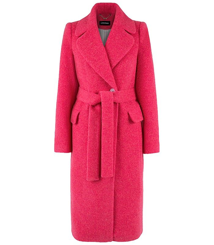 Пальто с поясом LA REINE BLANCHE 150290000 купить в интернет-магазине Снежная…