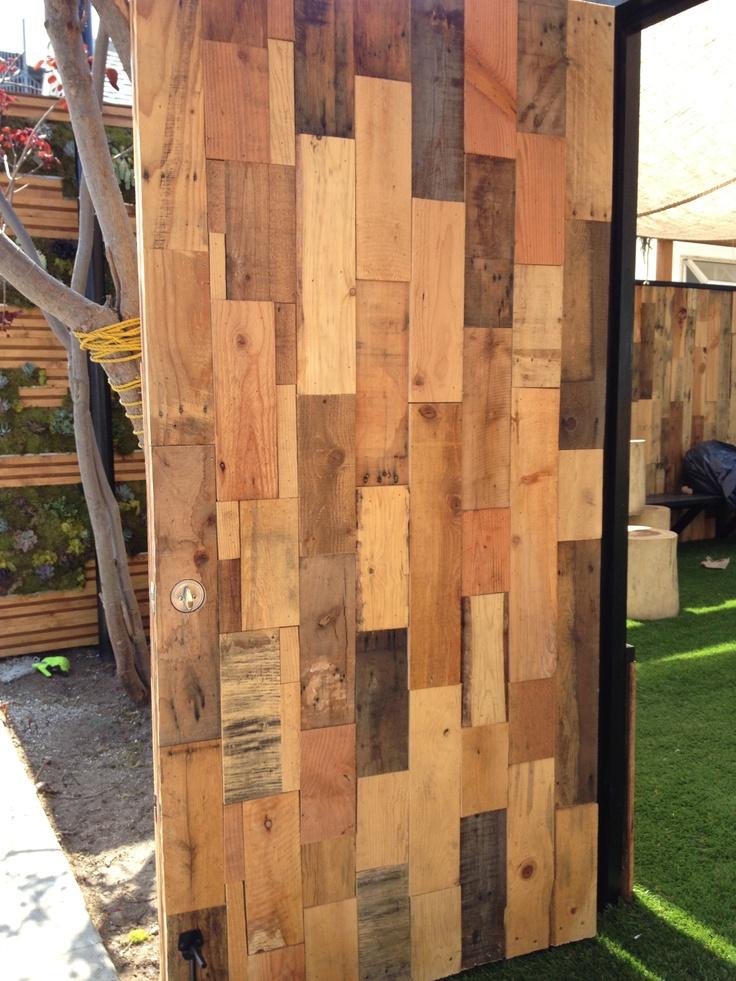 Scrap Wood Door : Best images about puertas on pinterest door handles