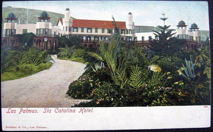 SPAIN~ESPAGNE ~ 1906 LAS PALMAS ~ SANTA CATALINA HOTEL