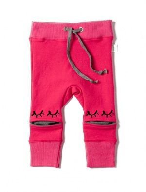 Buy Minti Hidden Knee Trackies Hot Pink/Grey