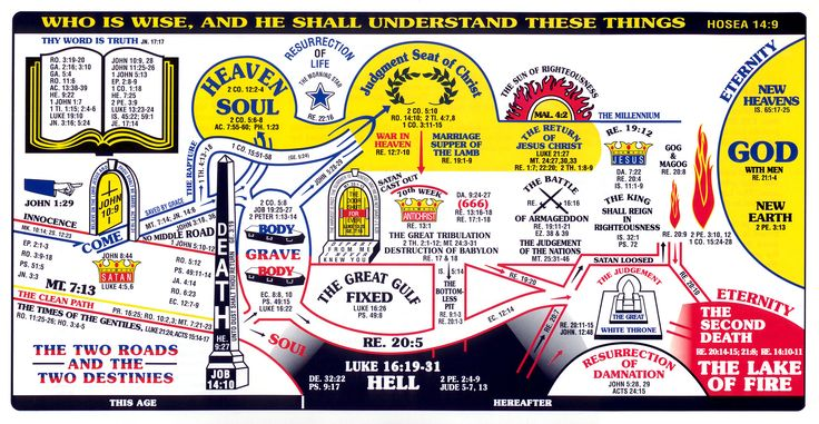 revelation charts | bible prophecy chart Bible Prophecy ...