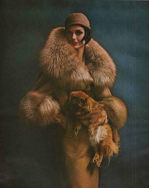 Say hello to the wonderful world of vintage #fur fashions. http://www.koslowsfurs.com/