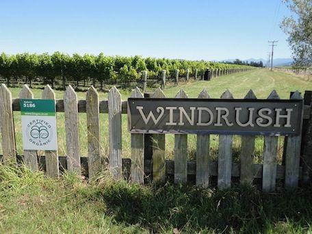 Bio-Gro certified organic vineyard