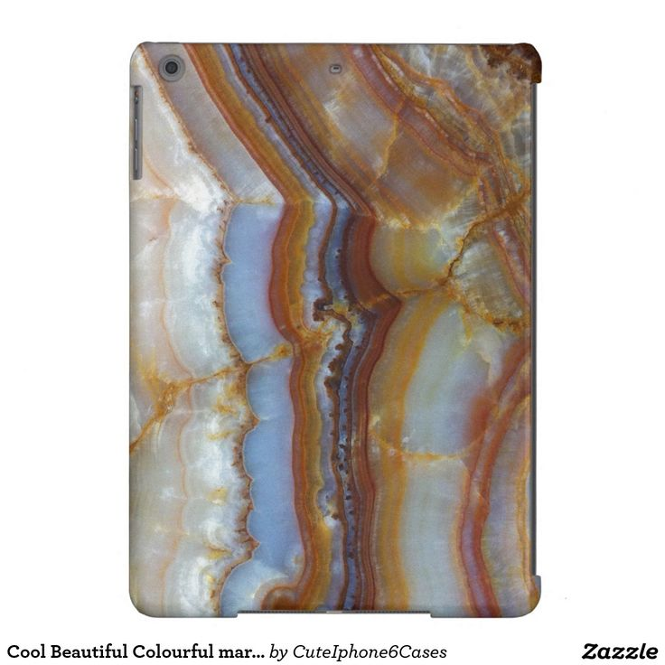 Cool Beautiful Colourful marble pattern iPad Air Case Cover