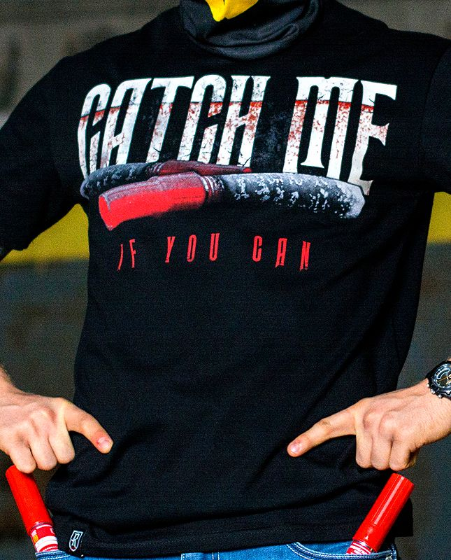 T-shirt Catch Me