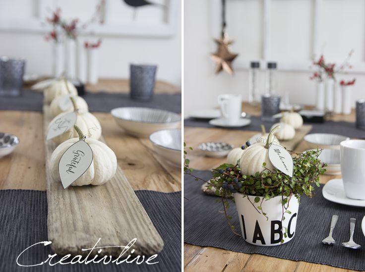 creativLIVE: Tischdeko