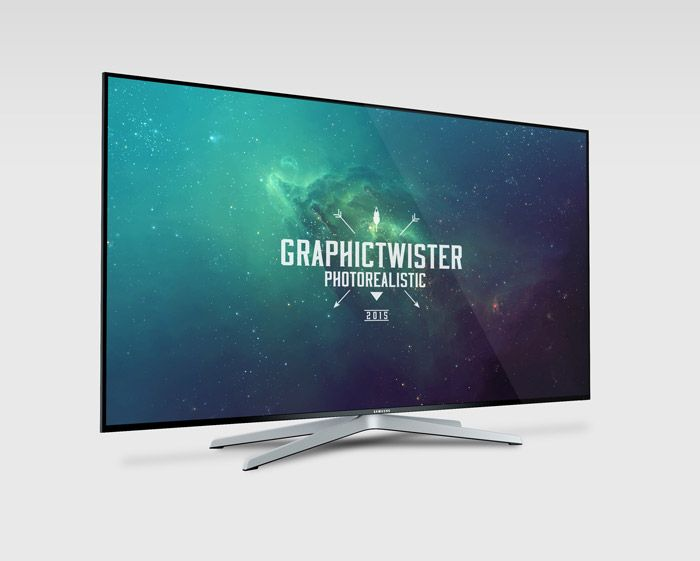 Free Samsung Mockup TV (57.6 MB) | Graphic Twister
