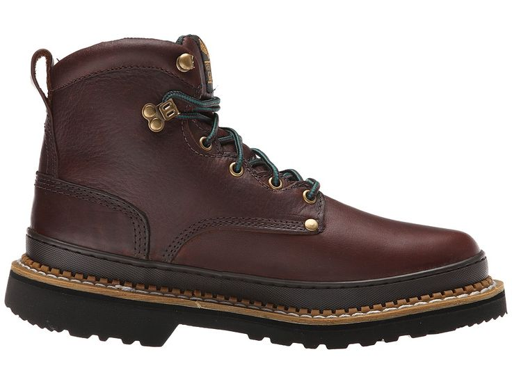Georgia Boot 6 Georgia Giant Boot Men's Work Boots Brown