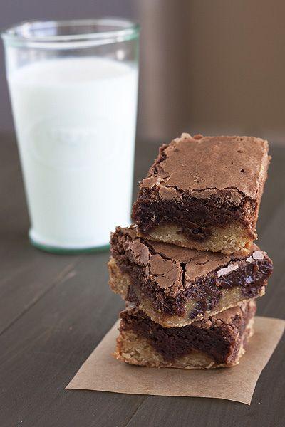 Blondie-Brownies...best of both worlds!