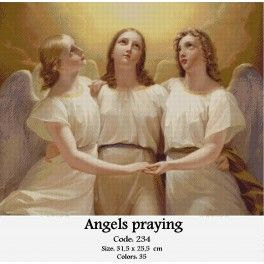 Angels praying