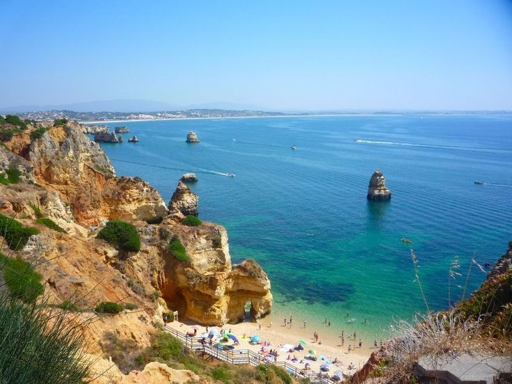 The 15 Best Destinations to Visit in #Portugal in 2017 according to Culture Trip 10-02-2017 | One country in particular is on everyones' lips lately: Portugal. Breathtaking shores, world-class cuisine, fabled architecture, and a wallet-friendly economy only scratch the surface when describing this dynamic and lively country. Portugal has it all – a rich history, innovative art, stunning views and super friendly, layed back locals. Photo: Camilo Beach, the Algarve, Portugal
