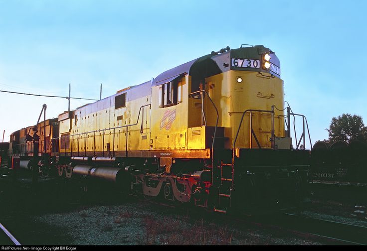 RailPictures.Net Photo: CNW 6730 Chicago & North Western Railroad Alco C628 at Eau Claire, Wisconsin by Bill Edgar