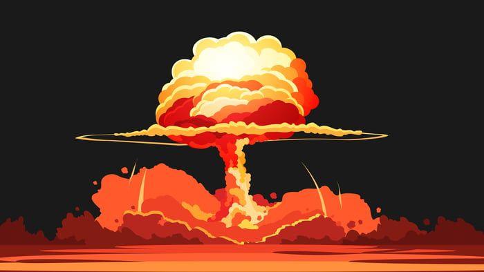 Nuke Normal Display Nuclear Art Normal Wallpaper Art