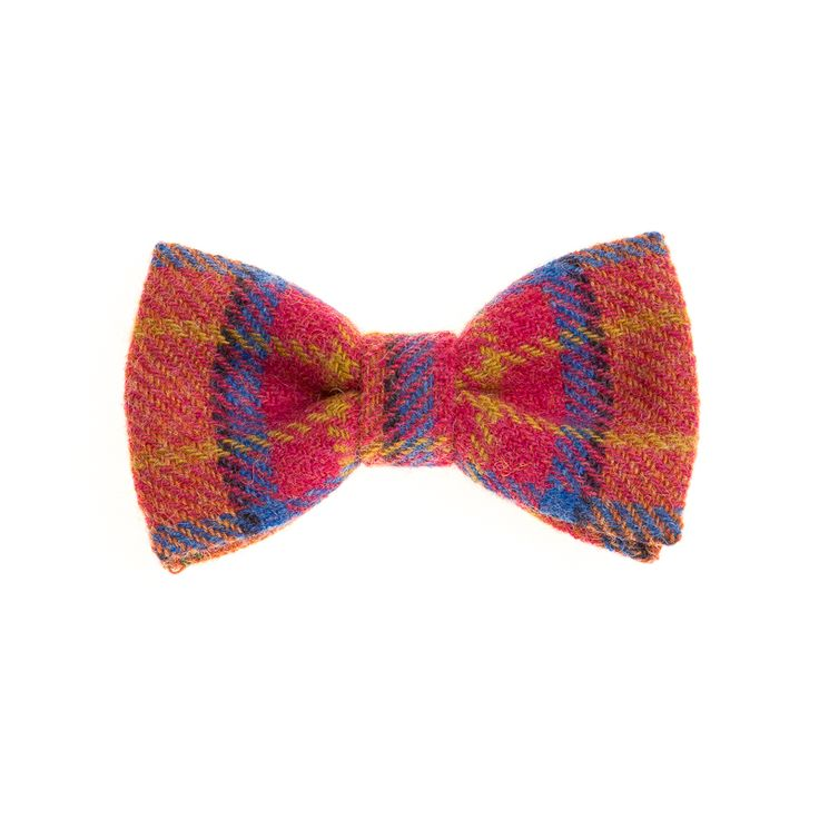"""Summer Bloom"" Donegal #Tweed  #Bowtie. FREE Worldwide Shipping!"