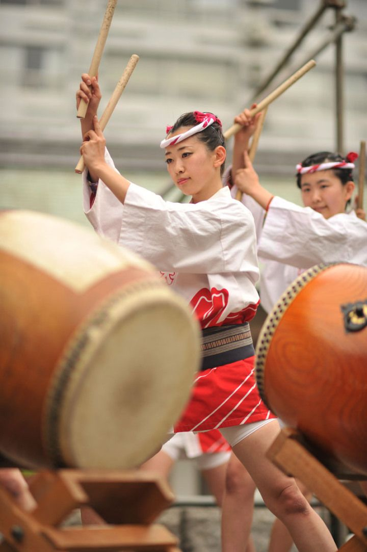 Rain Barrels as Drums? Contact Burlington Taiko Drummers for performance