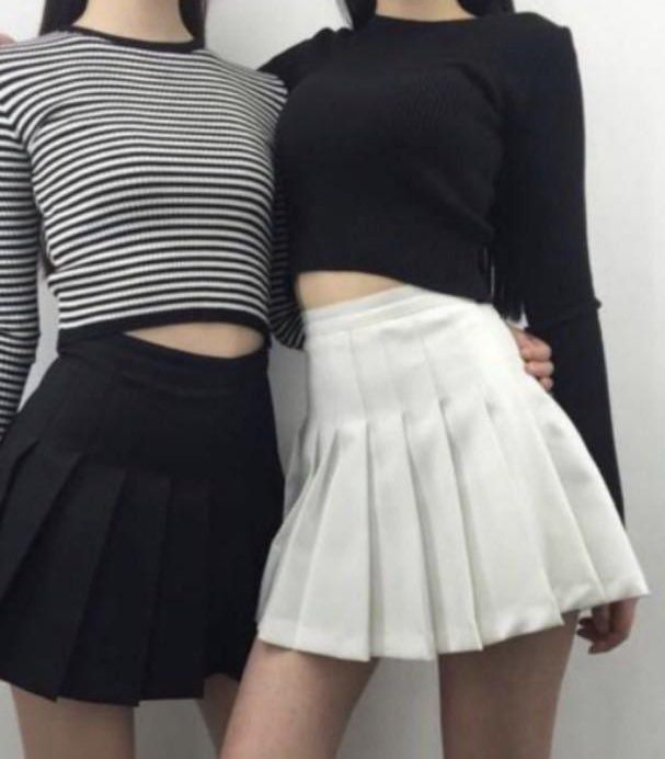 Silver On Twitter Tennis Skirt Outfit Fashion Korean Fashion