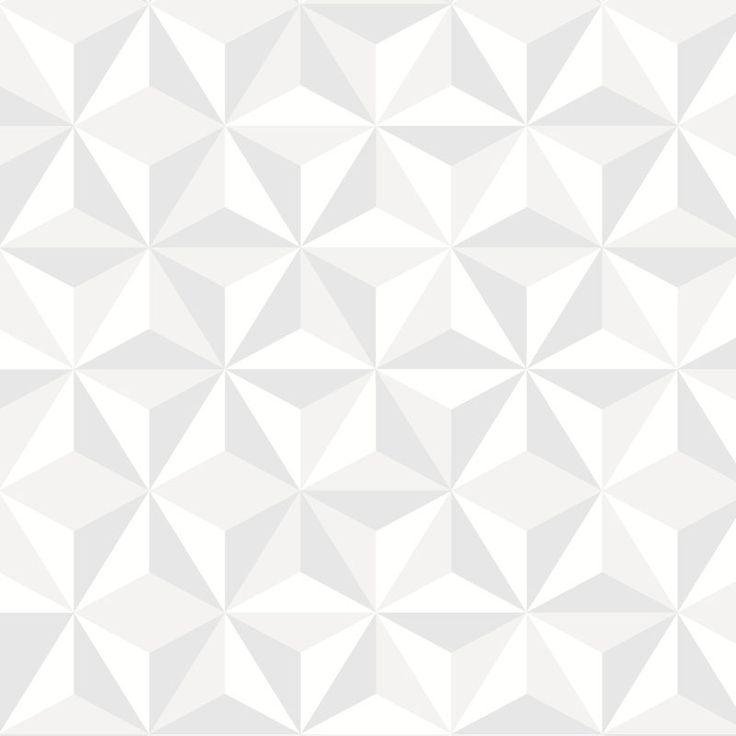Une crédence tout en douceur sur des motifs scandinaves, un nuancier apaisant et un motif ultra-graphique apportera du relief pour une cuisine originale!