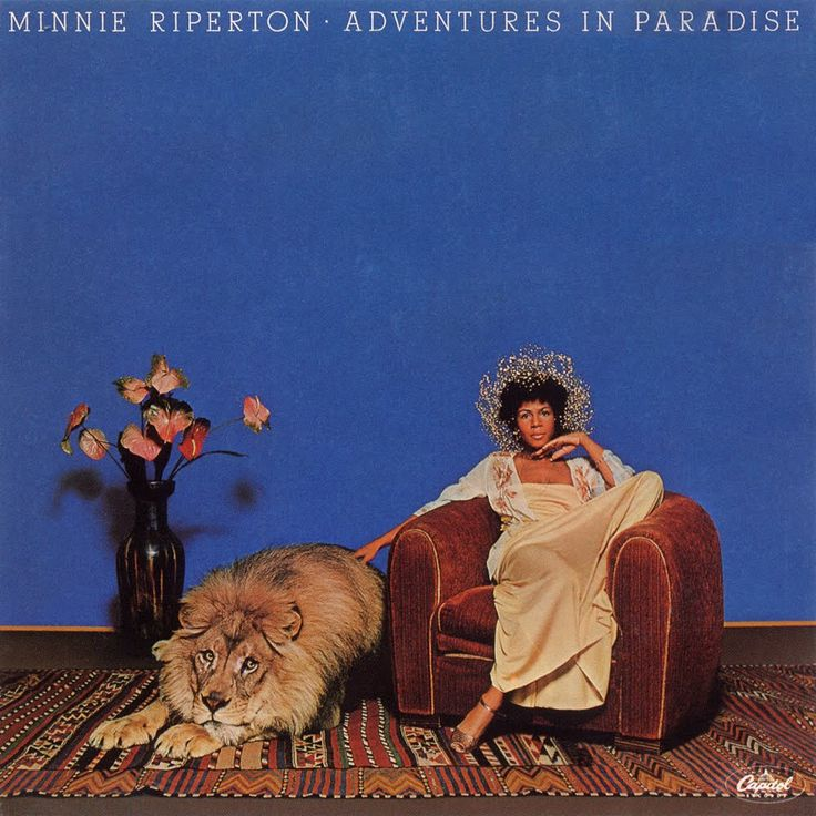 MINNIE RIPERTON / Adventures In Paradise [1975] ::: I am at so much peace when listening to this album. I sleep with it at night at times and wake up feeling so calm. One of the greatest albums ever for me.