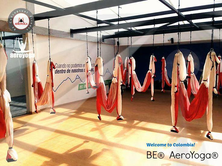 Welcome to Colombia!: Be® AeroYoga® avec Rafael Martínez et son Equipe.  NOUVEAU DIPLOME AEROYOGA® INTERNATIONAL AUSSI EN COLOMBIE! Devenez ...