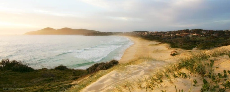 One Mile Beach, Forster...one of my favourite holiday spots growing up!