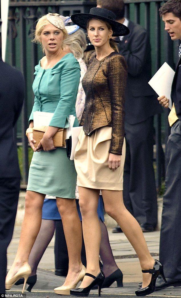 Челси Дэви принял участие в королевской свадьбы принца Уильяма и Кейт Миддлтон бывшего в В...