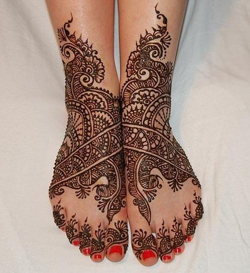 Beautiful Bridal mehendi design