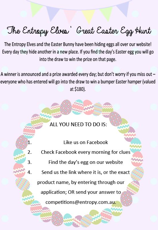 Our Great Easter Egg Hunt has begun! There are $215 worth in prizes to be won, and all entries go into the draw to win the ultimate Easter Hamper valued at $180! #easter #easteregghunt #competition