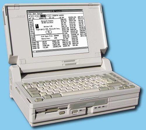 In 1988, Compaq Computer introduces its first laptop PC with VGA graphics – the Compaq SLT/286   Criação de Sites    Construção de Sites   Web Design   Manutenção   SEO   Portugal   Algarve - http://www.novaimagem.co.pt