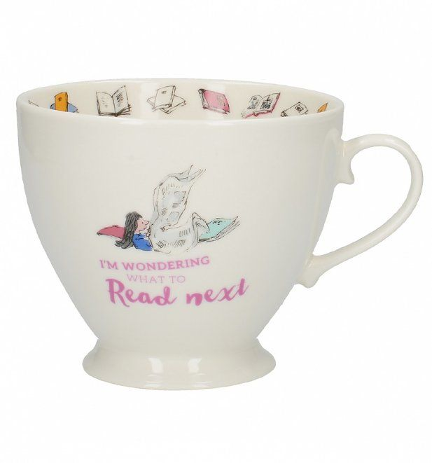 Roald Dahl Matilda What To Read Next Footed China Mug