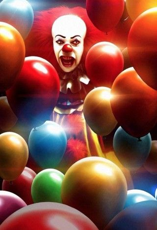 IT At 25 : Dennis Willman Pennywise Art