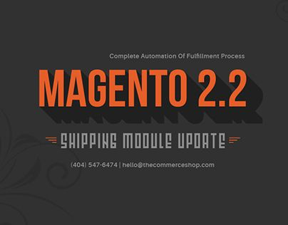 """Check out new work on my @Behance portfolio: """"Magento Shipping Module"""" http://be.net/gallery/54064855/Magento-Shipping-Module"""