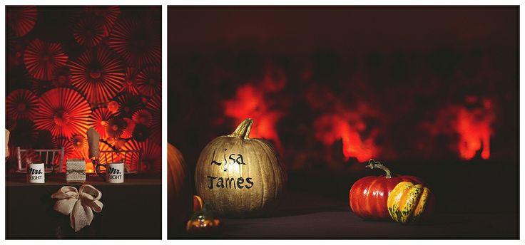 Fall Wedding Decor Ideas  Edmonton Wedding Photographers