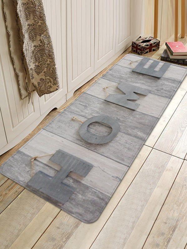 Home Wooden Print Anti Skid Floor Mat Wooden Prints Floor Area Rugs Printed Floor Mat