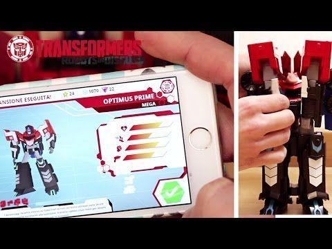 Transformers: dai giocattoli che si trasformano all'applicazione gioco! #gameplay #hasbro #trasfomers