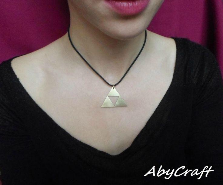 triforce the legend of zelda pendant necklace