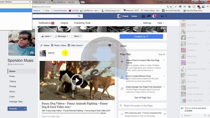 How To Show Youtube Thumbnail On Facebook - Big Youtube Thumbnail On Fac...