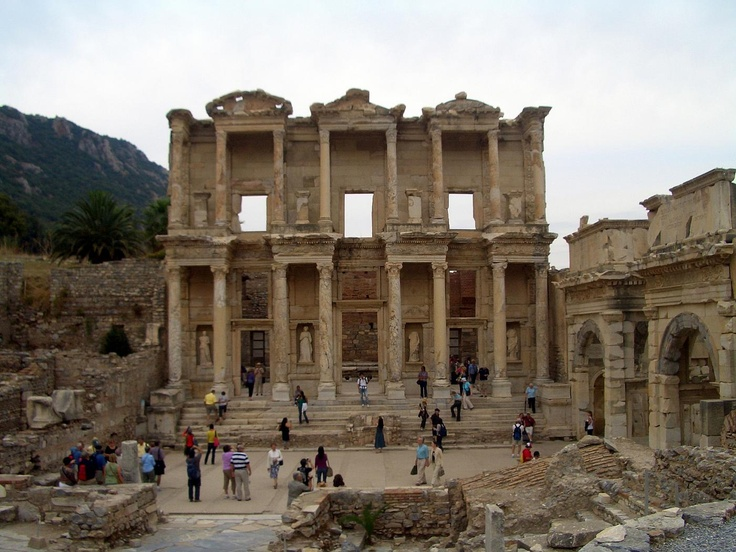 The Library of Ephesus, Turkey