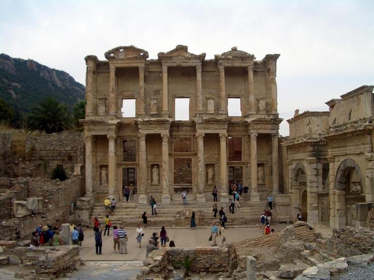 The Library of Ephesus, Turkey
