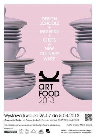 ART FOOD W CONCORDII na FUTU.PL W Concordia Design w Poznaniu trwa wystawa podsumowująca projekt Art Food.