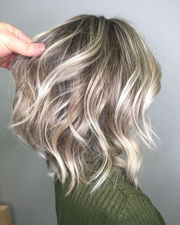 Short Blonde Highlights Hair Shortblondehair Short Hair Balayage Hair Styles Hair Highlights