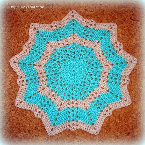 17 Best images about Crochet: Star Rugs And Blankets ...