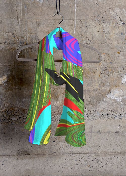 Cashmere Silk Scarf - Forest Floor by VIDA VIDA HNZ0nlH