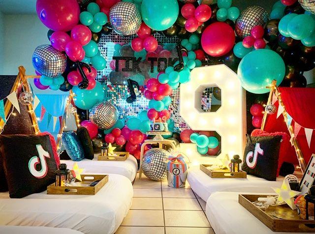 Tiktok Slumber Party Az Sleepy Teepee Teepee Party 14th Birthday Party Ideas 10th Birthday Parties