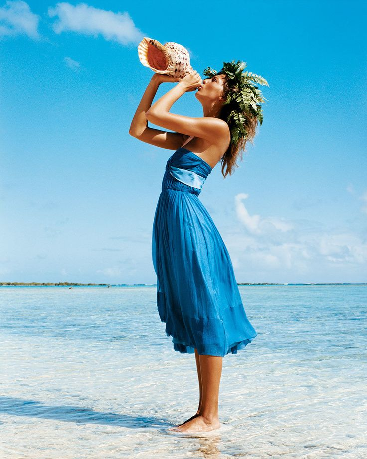 Daria Werbowy Ralph Lauren By Patrick Demarchelier: Fashion, Chloe Dress, Vogue