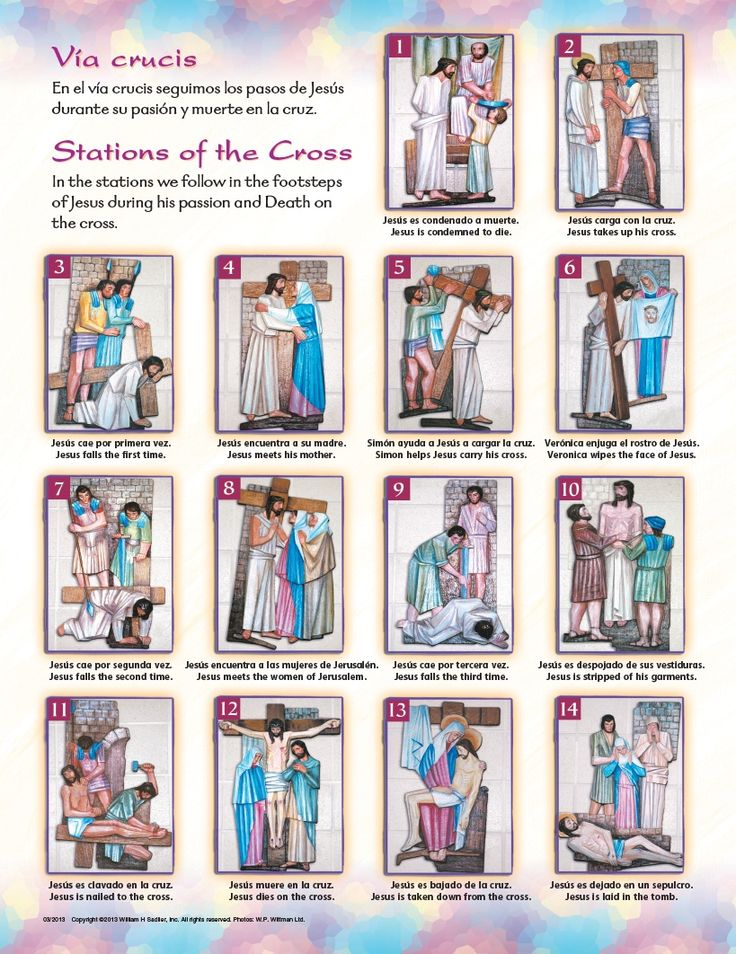 The Stations of the Cross: Follow in the footsteps of Jesus. I have to make sure this is kinder-appropriate