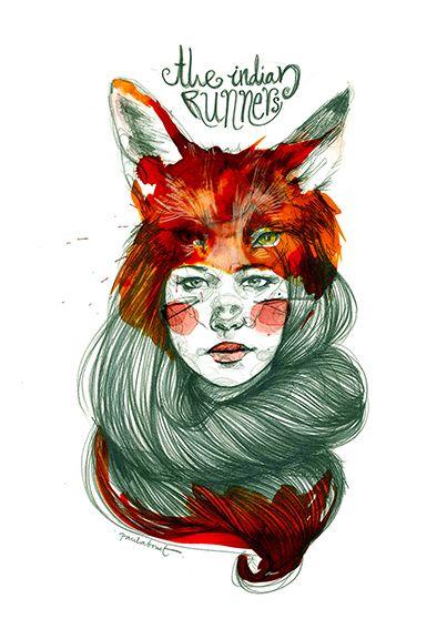 Ilustración de Paula Bonet para las camisetas de Ruzafa.