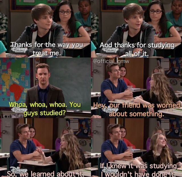 Girl Meets I Am Farkle ( this episode really showed their friendship, and I think Maya would've studied it anyway because she cares about Farkle)