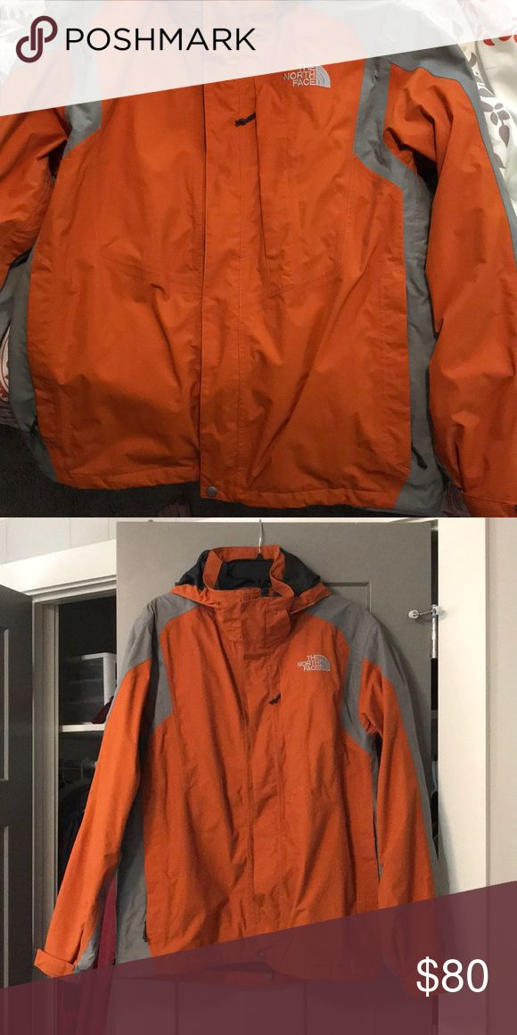North Face Orange Ski/Winter Coat Worn one time. Great Condition! North Face Jackets & Coats Ski & Snowboard